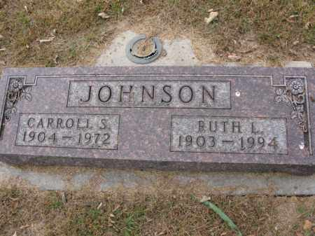 JOHNSON, CARROLL S. - Burt County, Nebraska | CARROLL S. JOHNSON - Nebraska Gravestone Photos