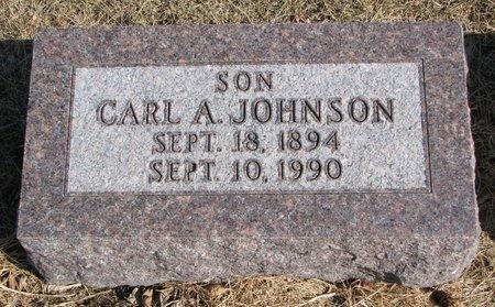 JOHNSON, CARL A. - Burt County, Nebraska | CARL A. JOHNSON - Nebraska Gravestone Photos