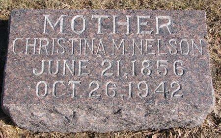 NELSON JOHNSON, CHRISTINA M. - Burt County, Nebraska | CHRISTINA M. NELSON JOHNSON - Nebraska Gravestone Photos