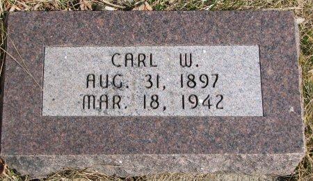 JOHNSON, CARL W. - Burt County, Nebraska | CARL W. JOHNSON - Nebraska Gravestone Photos