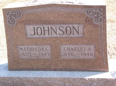 JOHNSON, CHARLES A. - Burt County, Nebraska | CHARLES A. JOHNSON - Nebraska Gravestone Photos
