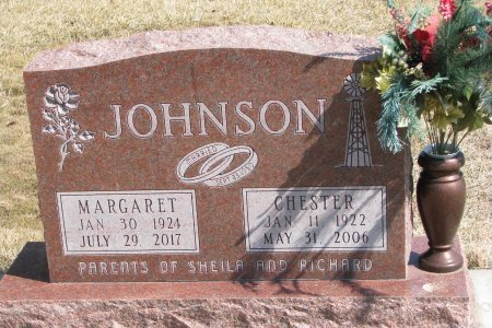 JOHNSON, CHESTER - Burt County, Nebraska | CHESTER JOHNSON - Nebraska Gravestone Photos