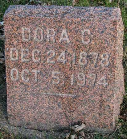 JOHNSON, DORA C. - Burt County, Nebraska | DORA C. JOHNSON - Nebraska Gravestone Photos
