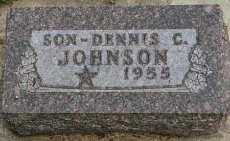 JOHNSON, DENNIS C. - Burt County, Nebraska | DENNIS C. JOHNSON - Nebraska Gravestone Photos