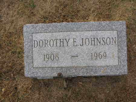 JOHNSON, DOROTHY E. - Burt County, Nebraska | DOROTHY E. JOHNSON - Nebraska Gravestone Photos