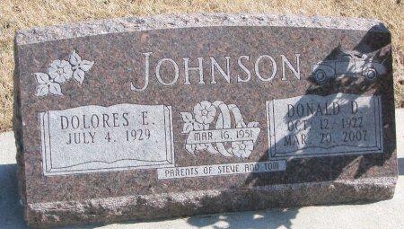 JOHNSON, DOLORES E. - Burt County, Nebraska | DOLORES E. JOHNSON - Nebraska Gravestone Photos