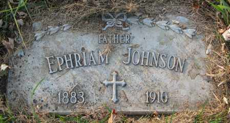 JOHNSON, EPHRIAM - Burt County, Nebraska | EPHRIAM JOHNSON - Nebraska Gravestone Photos