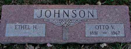 JOHNSON, ETHEL H. - Burt County, Nebraska | ETHEL H. JOHNSON - Nebraska Gravestone Photos