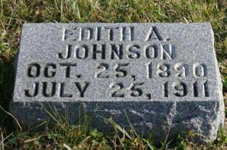 JOHNSON, EDITH A. - Burt County, Nebraska | EDITH A. JOHNSON - Nebraska Gravestone Photos