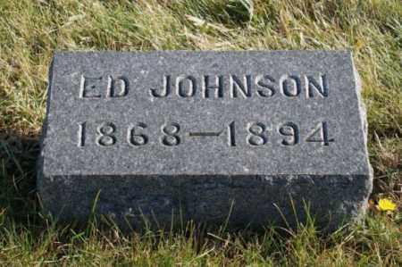 JOHNSON, ED - Burt County, Nebraska | ED JOHNSON - Nebraska Gravestone Photos