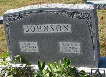 JOHNSON, EMMA E. - Burt County, Nebraska | EMMA E. JOHNSON - Nebraska Gravestone Photos