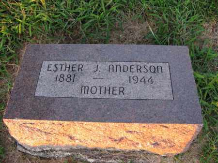 JOHNSON, ESTHER J. - Burt County, Nebraska | ESTHER J. JOHNSON - Nebraska Gravestone Photos