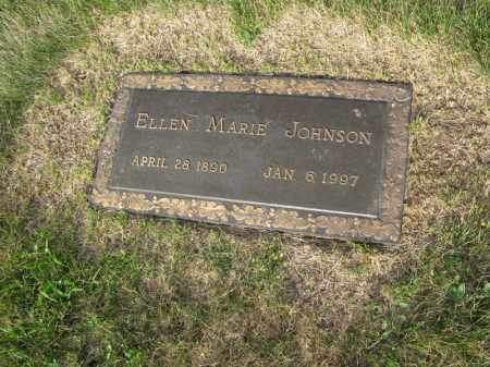 JOHNSON, ELLEN MARIE - Burt County, Nebraska | ELLEN MARIE JOHNSON - Nebraska Gravestone Photos