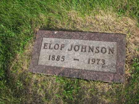 JOHNSON, ELOF - Burt County, Nebraska | ELOF JOHNSON - Nebraska Gravestone Photos