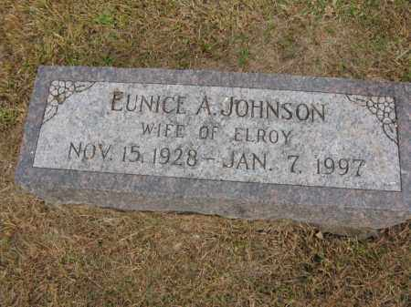 JOHNSON, EUNICE A. - Burt County, Nebraska | EUNICE A. JOHNSON - Nebraska Gravestone Photos
