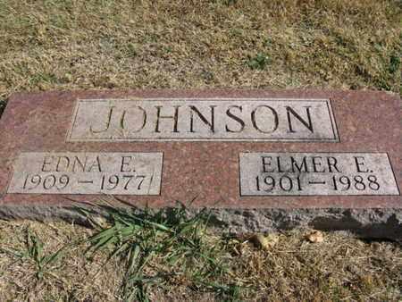 JOHNSON, EDNA E. - Burt County, Nebraska | EDNA E. JOHNSON - Nebraska Gravestone Photos