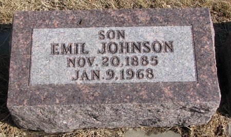 JOHNSON, EMIL - Burt County, Nebraska | EMIL JOHNSON - Nebraska Gravestone Photos