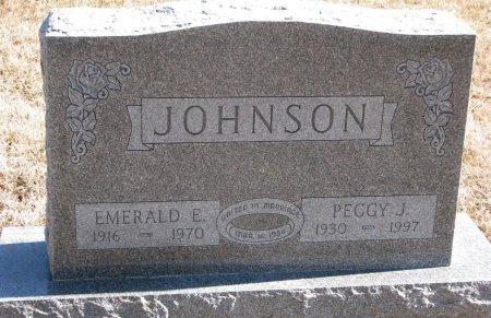 EDWARDS JOHNSON, PEGGY JOAN - Burt County, Nebraska | PEGGY JOAN EDWARDS JOHNSON - Nebraska Gravestone Photos