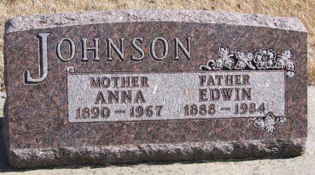 JOHNSON, EDWIN - Burt County, Nebraska   EDWIN JOHNSON - Nebraska Gravestone Photos