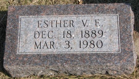 JOHNSON, ESTHER VICTORIA ELIZABETH - Burt County, Nebraska | ESTHER VICTORIA ELIZABETH JOHNSON - Nebraska Gravestone Photos