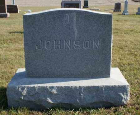JOHNSON, FAMILY - Burt County, Nebraska | FAMILY JOHNSON - Nebraska Gravestone Photos