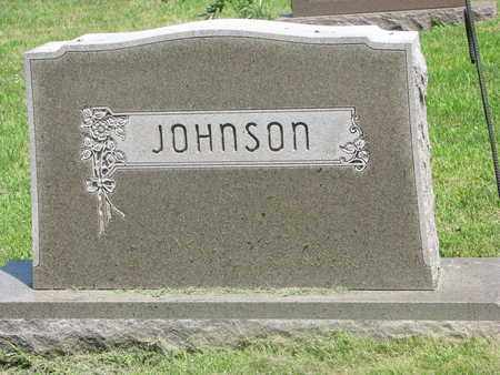 JOHNSON, (FAMILY MONUMENT) - Burt County, Nebraska | (FAMILY MONUMENT) JOHNSON - Nebraska Gravestone Photos