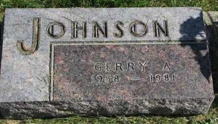 JOHNSON, GERRY A. - Burt County, Nebraska | GERRY A. JOHNSON - Nebraska Gravestone Photos