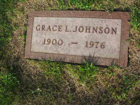 JOHNSON, GRACE L. - Burt County, Nebraska | GRACE L. JOHNSON - Nebraska Gravestone Photos