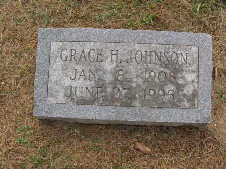 JOHNSON, GRACE H. - Burt County, Nebraska   GRACE H. JOHNSON - Nebraska Gravestone Photos