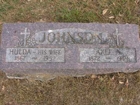 JOHNSON, AXEL A. - Burt County, Nebraska | AXEL A. JOHNSON - Nebraska Gravestone Photos