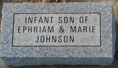 JOHNSON, INFANT SON - Burt County, Nebraska   INFANT SON JOHNSON - Nebraska Gravestone Photos