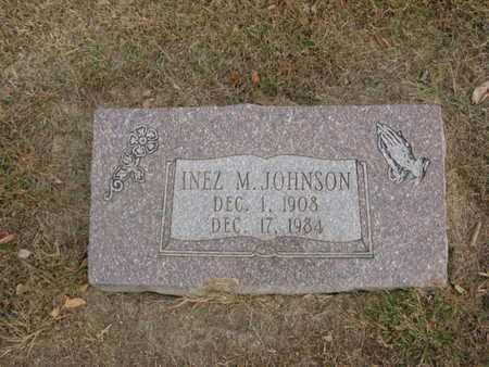 JOHNSON, INEZ M. - Burt County, Nebraska | INEZ M. JOHNSON - Nebraska Gravestone Photos