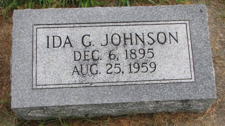 NELSON JOHNSON, IDA G. - Burt County, Nebraska | IDA G. NELSON JOHNSON - Nebraska Gravestone Photos