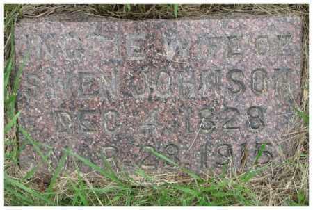 JOHNSON, INGRIE - Burt County, Nebraska   INGRIE JOHNSON - Nebraska Gravestone Photos