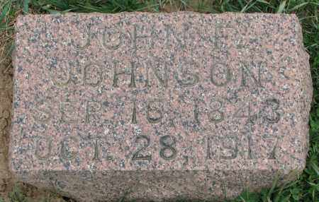 JOHNSON, JOHN F. - Burt County, Nebraska | JOHN F. JOHNSON - Nebraska Gravestone Photos