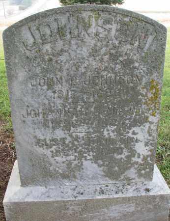 JOHNSON, JOHN P. - Burt County, Nebraska | JOHN P. JOHNSON - Nebraska Gravestone Photos