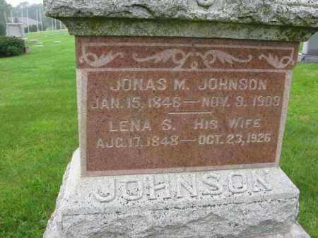 JOHNSON, JONAS M. - Burt County, Nebraska | JONAS M. JOHNSON - Nebraska Gravestone Photos