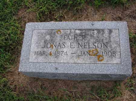 JOHNSON, JONAS E. - Burt County, Nebraska | JONAS E. JOHNSON - Nebraska Gravestone Photos