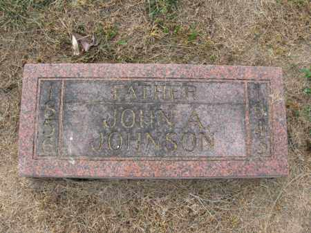 JOHNSON, JOHN A. - Burt County, Nebraska | JOHN A. JOHNSON - Nebraska Gravestone Photos