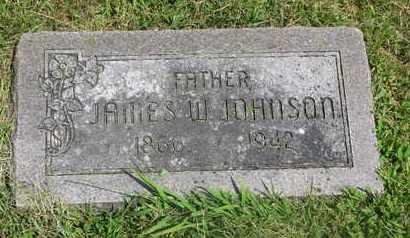 JOHNSON, JAMES W. - Burt County, Nebraska | JAMES W. JOHNSON - Nebraska Gravestone Photos