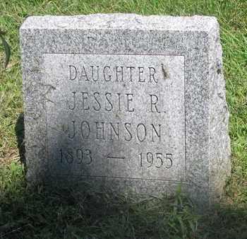 JOHNSON, JESSIE R. - Burt County, Nebraska | JESSIE R. JOHNSON - Nebraska Gravestone Photos