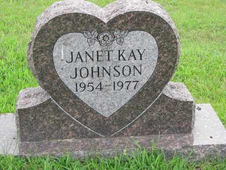JOHNSON, JANET KAY - Burt County, Nebraska | JANET KAY JOHNSON - Nebraska Gravestone Photos