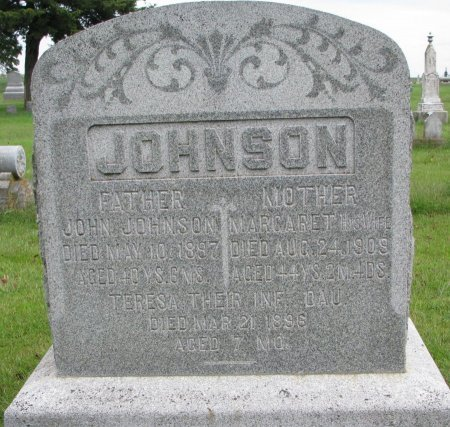 JOHNSON, TERESA - Burt County, Nebraska | TERESA JOHNSON - Nebraska Gravestone Photos