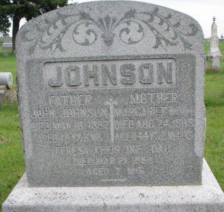 JOHNSON, MARGARET - Burt County, Nebraska | MARGARET JOHNSON - Nebraska Gravestone Photos