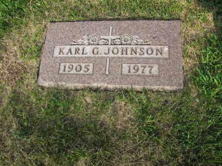 JOHNSON, KARL G. - Burt County, Nebraska | KARL G. JOHNSON - Nebraska Gravestone Photos