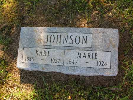 JOHNSON, MARIE - Burt County, Nebraska | MARIE JOHNSON - Nebraska Gravestone Photos