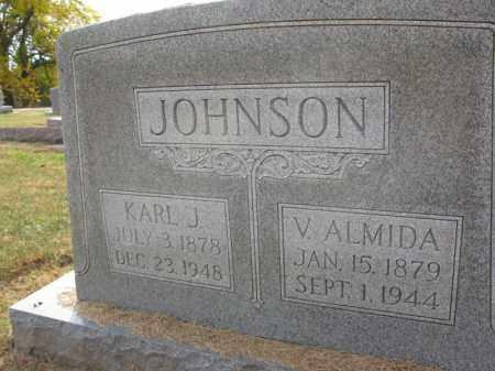 JOHNSON, KARL J. - Burt County, Nebraska | KARL J. JOHNSON - Nebraska Gravestone Photos