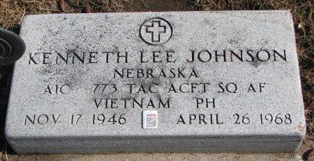 JOHNSON, KENNETH LEE - Burt County, Nebraska | KENNETH LEE JOHNSON - Nebraska Gravestone Photos