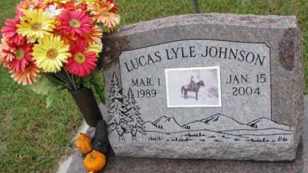 JOHNSON, LUCAS LYLE - Burt County, Nebraska   LUCAS LYLE JOHNSON - Nebraska Gravestone Photos