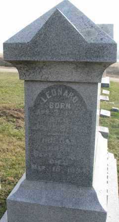 JOHNSON, LEONARD - Burt County, Nebraska | LEONARD JOHNSON - Nebraska Gravestone Photos